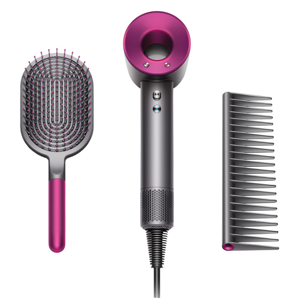 Фен Dyson HD01 Supersonic Fuchsia Styling Set